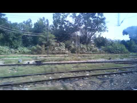 Scenes and sounds from Indian train