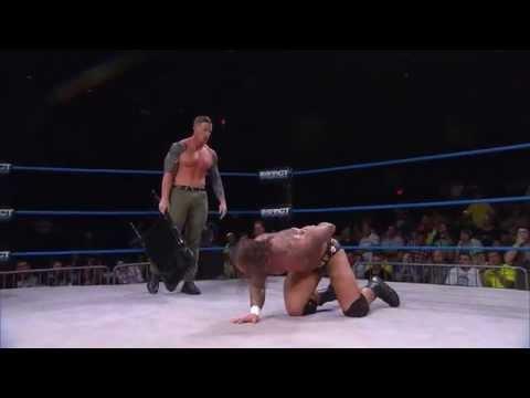 Tag Tournament: Gunner & Samuel Shaw vs Low Ki & Samoa Joe (Oct 22, 2014)