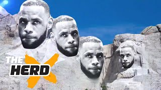 SisQÃ_ - LeBron Song (Thong Song Parody) | THE HERD