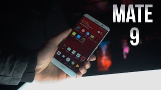 Huawei Mate 9 - Hands On | CES 2017
