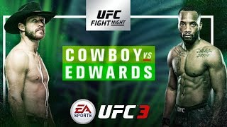 EA UFC 3: Cowboy Vs Edwards - UFC Fight Night 132