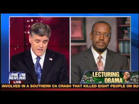 Conservative Doctor Benjamin Carson on Hannity on Why He Exposed Obama's Policies to His Face