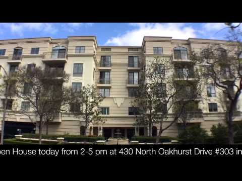 Open House today from 2-5 pm at 430 North Oakhurst Drive #303 in Beverly Hills, CA 90210 - $1,399...