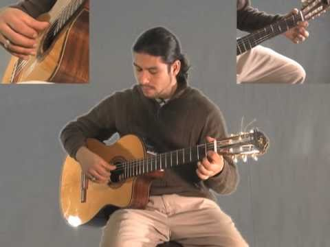 0 Learn Greensleeves  on Classical Guitar part 2