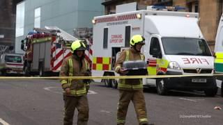 Cat rescue. Glasgow school of art fire 2018
