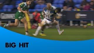 Tikoirotuma's huge hit on Homer | Rugby Video Highlights