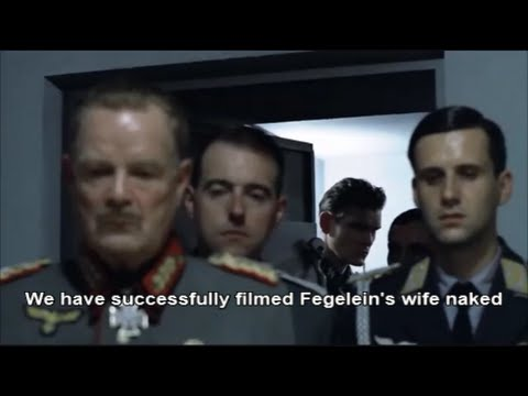 Hitler Plans To Post A Nude Video Of Fegelein's Wife video