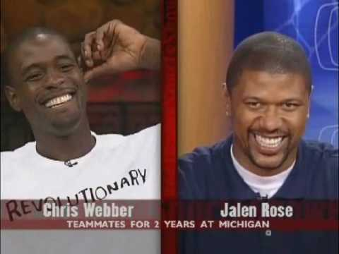 Jalen Rose Interviews Chris Webber Part 1