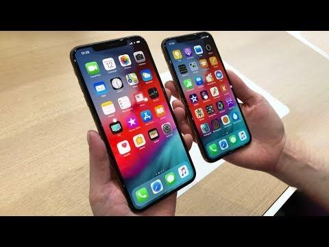 Cận cảnh iPhone Xs, iPhone Xs Max, iPhone Xr : Bộ 3 iPhone 2018