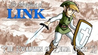 The Evolution of Zelda [Part 2] - Zelda II: Link's Adventure Review