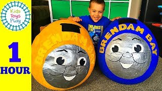 Thomas and Friends GIANT Surprise Egg Compilation | Thomas the Train Biggest Surprise Eggs