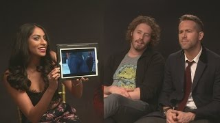 DEADPOOL: Ryan Reynolds and T.J. Miller guess superhero's butts!