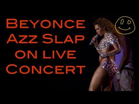 Beyonce Ass Slapped, Beyonce