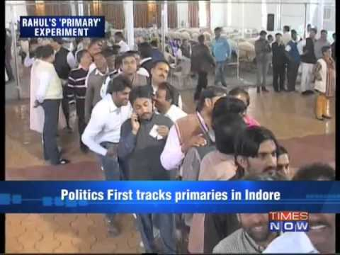 Politics First - Rahul Gandhi