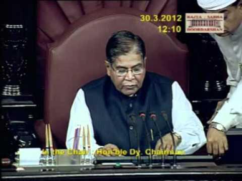 Farewell to K. Rahman Khan, Deputy Chairman, Rajya Sabha