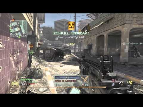 Call Of Duty: MW2 - Chopper Gunner Goes HAM! [MW2 Nuke]