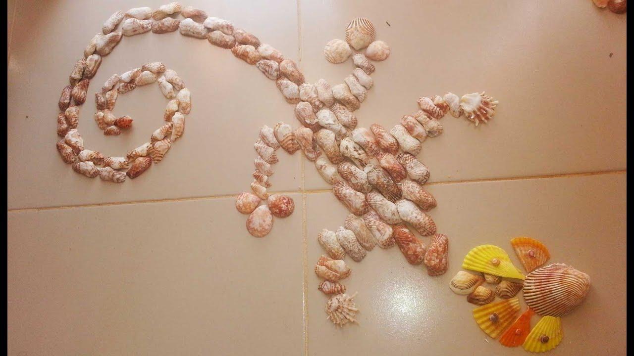 Поделки для ванной из ракушек своими руками фото