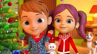 Deck The Halls | Christmas Songs Playlist for Kids | Xmas Music & Cartoons by Little Treehouse