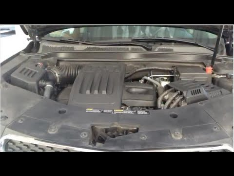 DIY How To Install Engine Air Filter 2010-2012 Chevy Equinox GMC Terrain 4cly V6