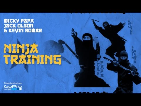 Ninja Training - Jack Olson, Micky Papa, and Kevin Romar