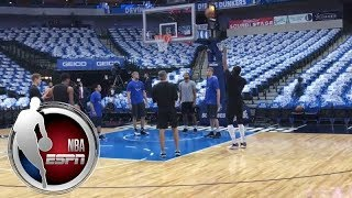 Kawhi Leonard warms up in first game back for San Antonio Spurs   ESPN