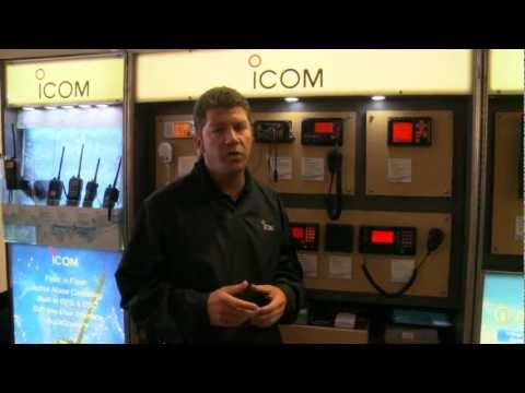 Icom America at the U.S. Sailboat show in Anapolis, MD