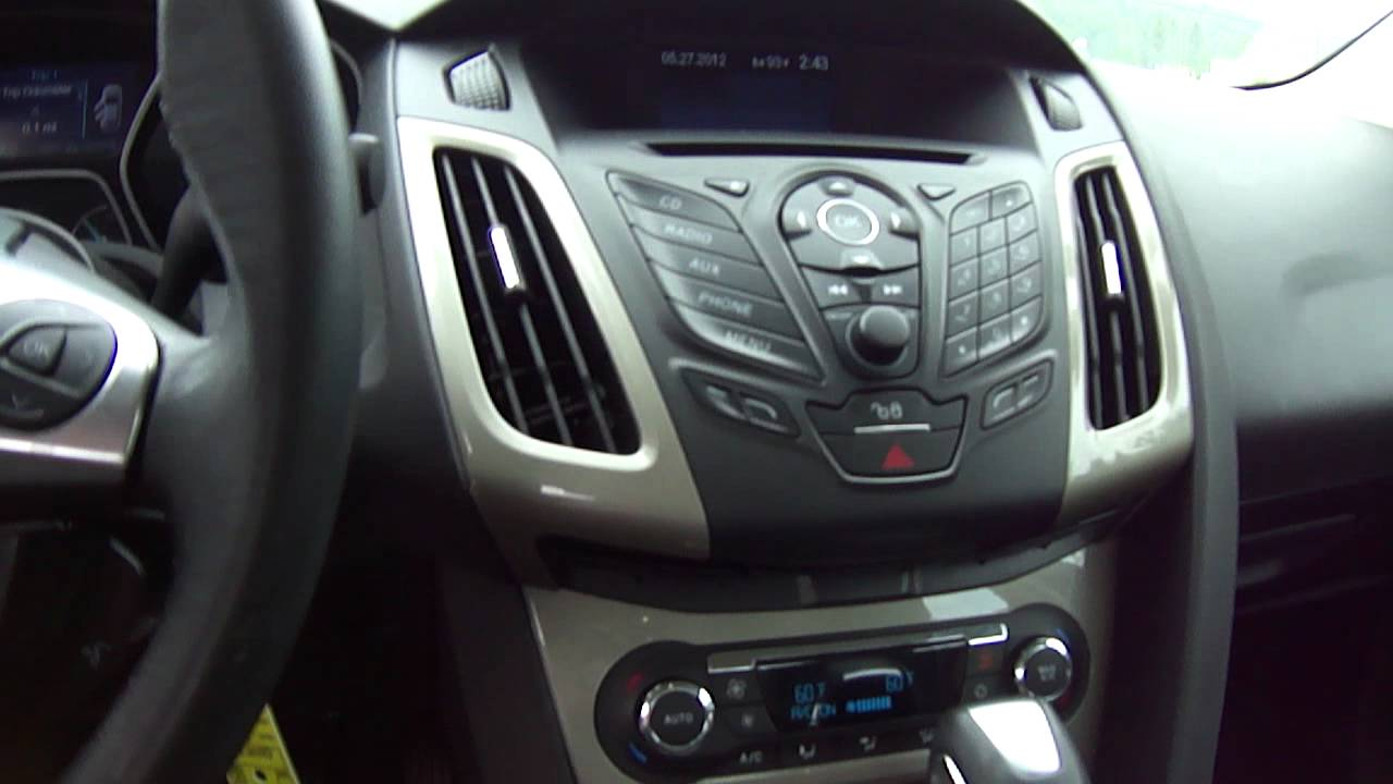2012 Ford Focus Sel Youtube
