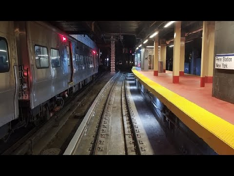 4K/60p: LIRR M3 Front Window Jamaica to Penn Station thumbnail