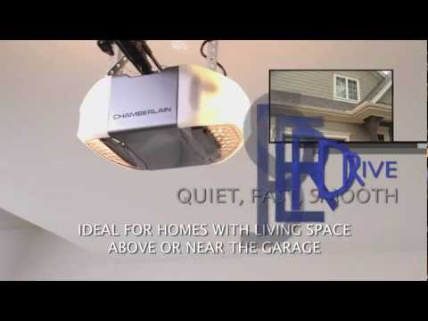 Chamberlain Whisper Drive Garage Door Opener with MyQ Technology and Battery Backup