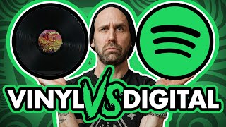 Does vinyl REALLY sound better?? (ABORTED VINYL VS DIGITAL)
