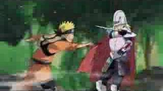 Strong Bad does a Naruto AMV