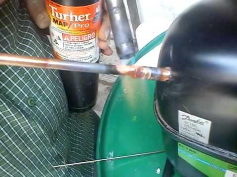 Boquilla para soldar cobre