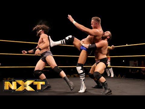TM61 vs. Andrew Duckworth & Jon Skyler: WWE NXT, Feb. 14, 2018