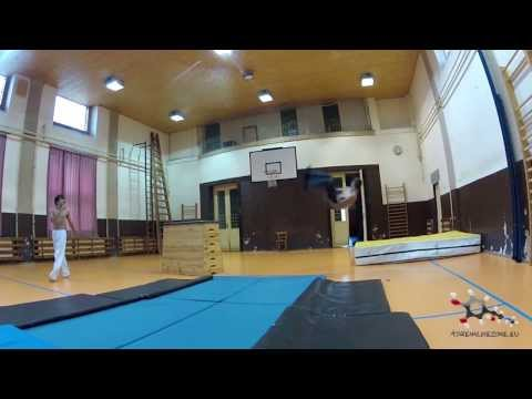 Adteam - Parkour And Tricking - Sázava - Indoor - 21 - 2013 video