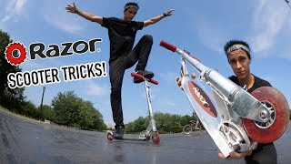 RAZOR SCOOTER TRICKS!