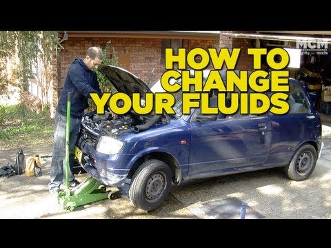 How To Change Your Fluids