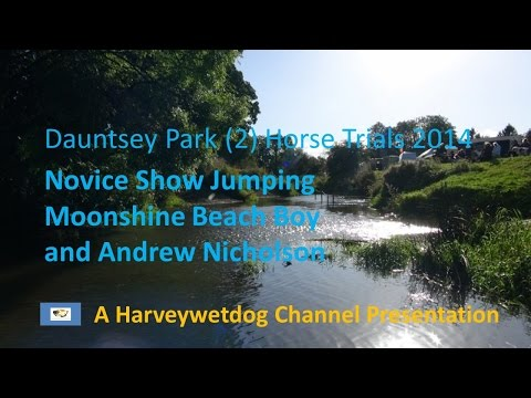 Andrew Nicholson: British Eventing Dauntsey Park (2) Horse Trials 2014