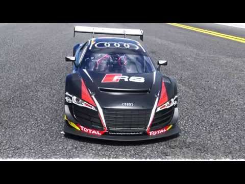 Losi Audi R8 1/6-Scale AWD Supercar - First Run 4s