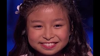 9 Y.O. Little STAR Delivers PERFECT Song! | Semifinals 2 | America's Got Talent 2017
