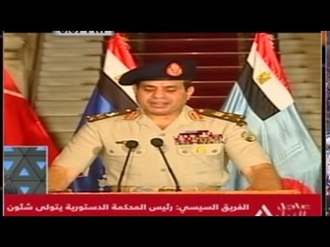 Coup in Egypt: Military ousts Morsy.