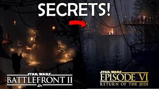 Things You MISSED In The EWOK HUNT Trailer! - Star Wars Battlefront 2 Night On Endor