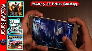 Samsung Galaxy J7 Prime Gaming Review+Battery Test