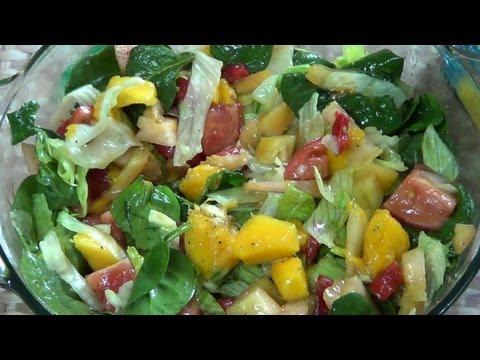 Ensalada de Vegetales y Mango