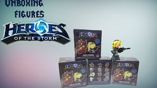 UNBOXING: Фигурки Heroes of the Storm - Mystery Minis