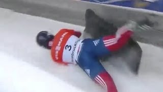 Too much speed and near crashes for Skeleton sliders - Universal Sports