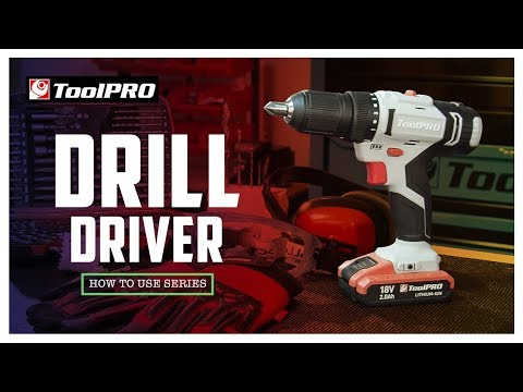 How to use a Drill Driver