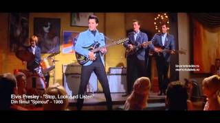 Watch Elvis Presley Stop Look And Listen video