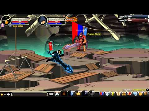 Kingkiller2013 - AQW 1v1 Mage Class PvP With Enhancements