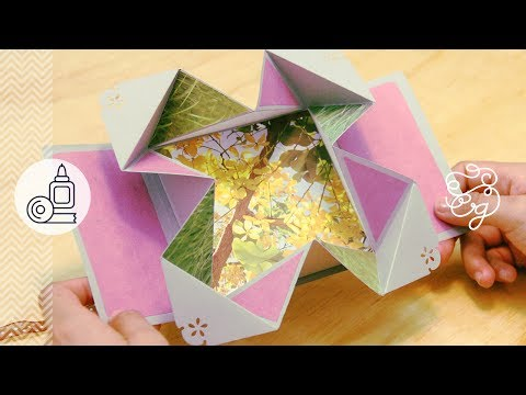 Fold-Out: Scrap + origami = Regalo | Craftingeek*