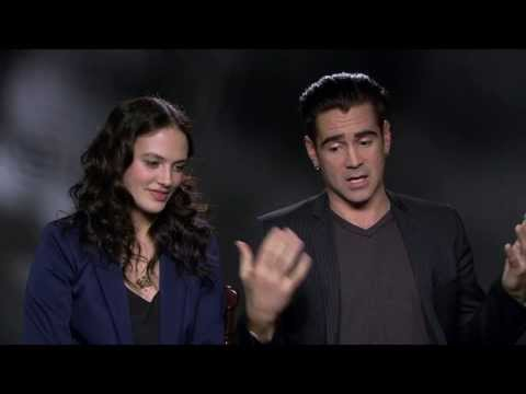 """Winter's Tale: Colin Farrell """"Peter Lake"""" & Jessica Brown Findlay Official Movie Interview"""